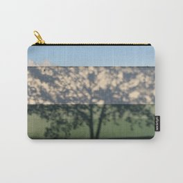 Shadow Tree on an industrial building Carry-All Pouch
