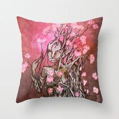 Lumen Blossoms Throw Pillow