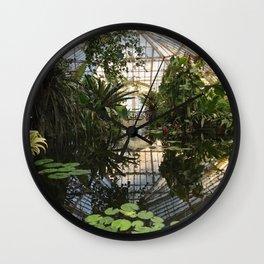 CONSERVATORY X Wall Clock
