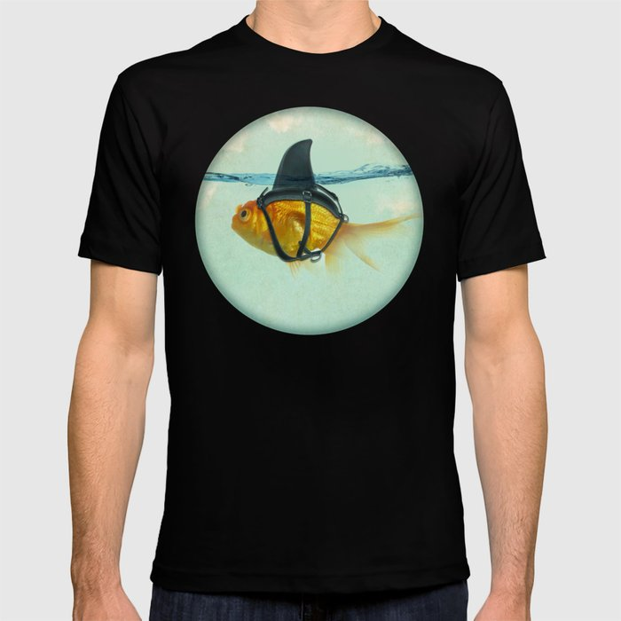 Brilliant DISGUISE - Goldfish with a Shark Fin T-Shirt