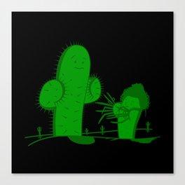 Cactus Scissorhands Canvas Print