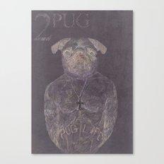 2 pug Canvas Print