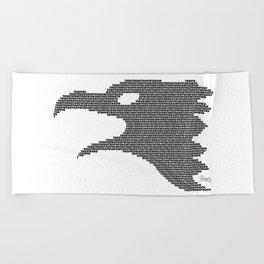 The Eagle of Wisdom Beach Towel