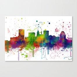 Baltimore Skyline Canvas Print