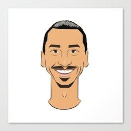 Ibrahimovic v2 Canvas Print
