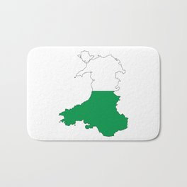 Wales and the Dragon Bath Mat