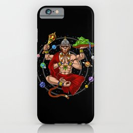 Hanuman Hindu God iPhone Case