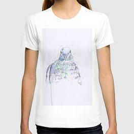Pigeon drawing. T-shirt