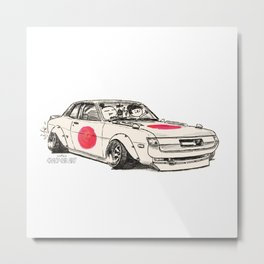 Crazy Car Art 0177 Metal Print