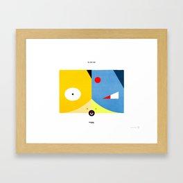 PKMNML #054 - 055 (EVOLUTION) PSYDUCK - GOL DUCK Framed Art Print