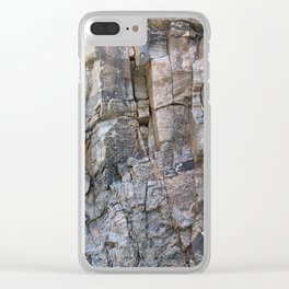 Cliff Hanger Clear iPhone Case