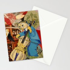 Distarcted Busker Stationery Cards