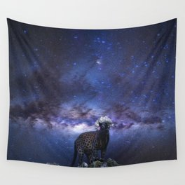 Punk Panther / Skin Leopard Wall Tapestry