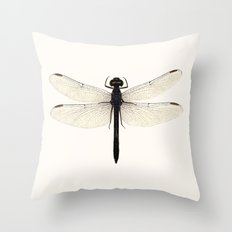 dragonfly #5 Throw Pillow