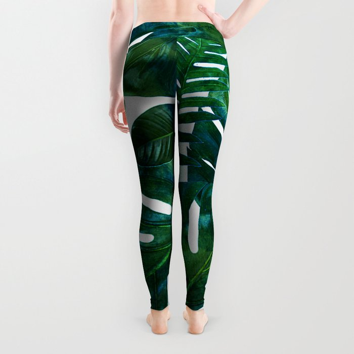 Perceptive Dream || #society6 #tropical #buyart Leggings
