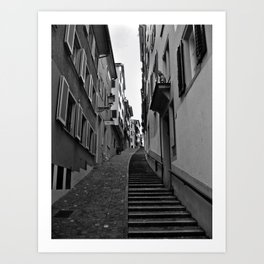 Swiss Alley Art Print