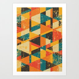 A Million Little Pieces Art Print