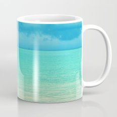 Blue Turquoise Tropical Sandy Beach Mug