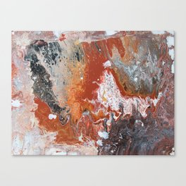 Night Fire Canvas Print