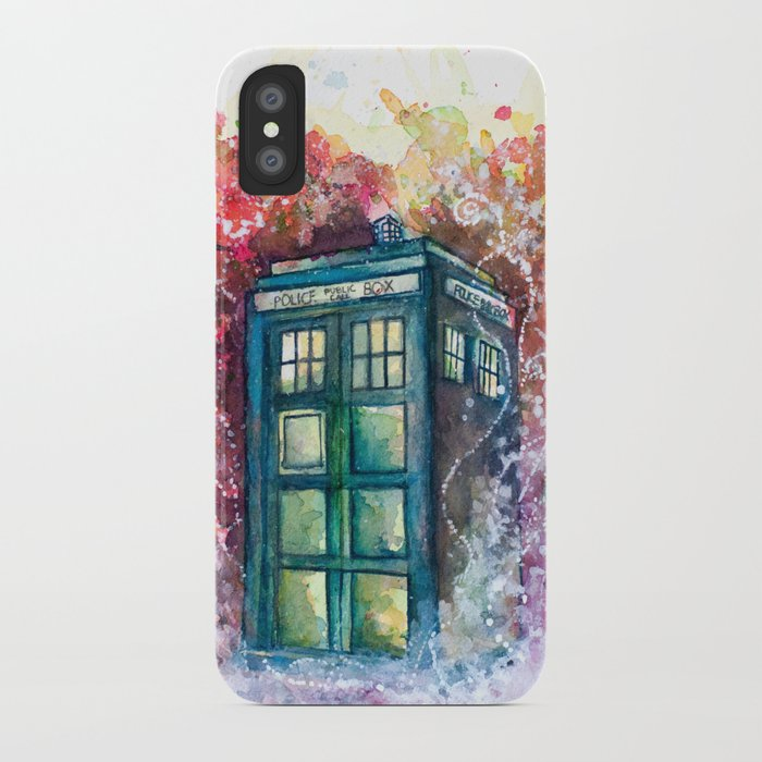 Tardis Wallpaper Iphone: Doctor Who Tardis IPhone Case By Jessiadrignola