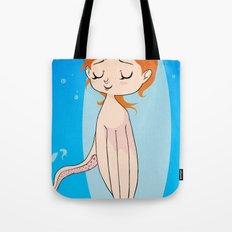 Octopus Girl Tote Bag