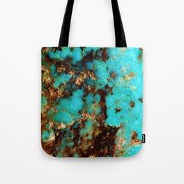 Turquoise I Tote Bag