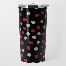 Dots Bama alabama crimson tide pattern gifts for university of alabama students and alumni Travel Mug