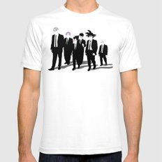 Reservoir Warriors Mens Fitted Tee White LARGE