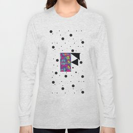 Letter F Long Sleeve T-shirt