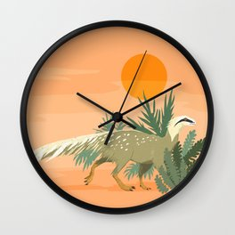 Saturnalia tupiniquim Wall Clock
