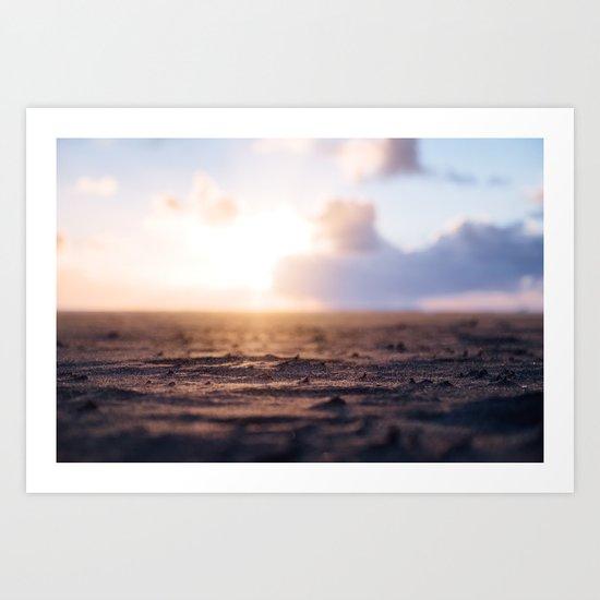 Startdust ocean Art Print
