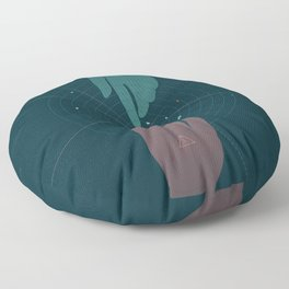 Parallel Universe Floor Pillow