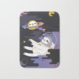 Planet Sloth Bath Mat