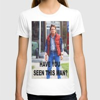 marty mcfly T-shirts featuring MARTY by Dora Birgis