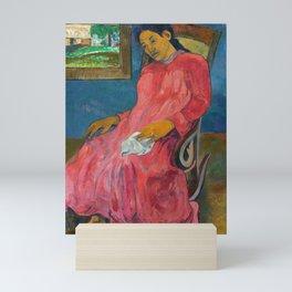 Melancholic by Paul Gauguin Mini Art Print