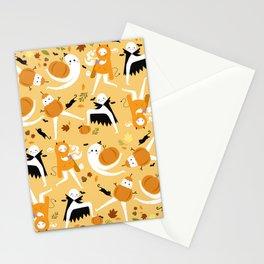 Fall Fresno Nightcrawlers Pattern Stationery Cards
