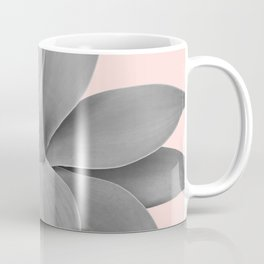 Gray Blush Agave Romance #1 #tropical #decor #art #society6 Coffee Mug