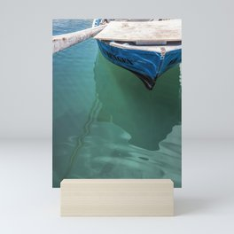 The Harbour Series - Boat and Rowing Mini Art Print