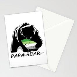 Papa Bear Aromantic Stationery Cards