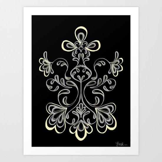 swirls II Art Print