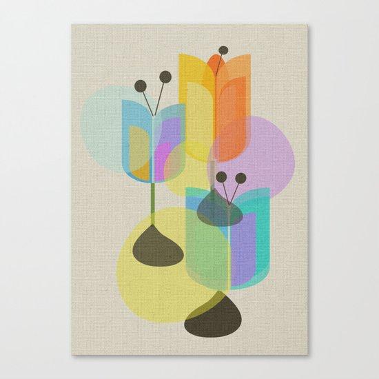 Three Tulips Canvas Print