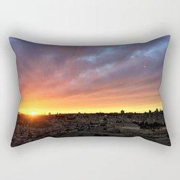 Jerusalem Sunset Rectangular Pillow