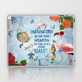 Alice In Wonderland - Imagination Laptop & iPad Skin