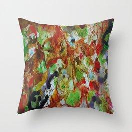 GLTCH! Throw Pillow