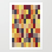 bauhaus Art Prints featuring Bauhaus by ohkj