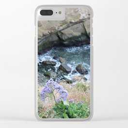 Ocean Colors Clear iPhone Case