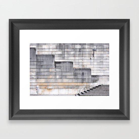 Pattern Happy Framed Art Print