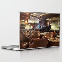 bar Laptop & iPad Skins featuring Lounge Bar by Deborah Janke