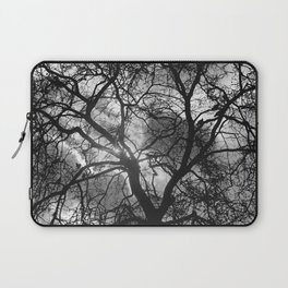 Dramatic London Tree Silhouette Laptop Sleeve