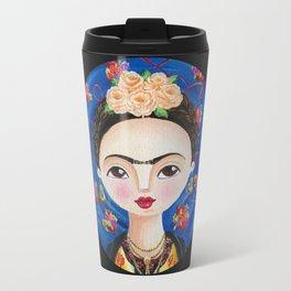 Frida, Intimidades del Corazón Travel Mug